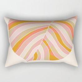 Tropical Leaf, 1975 Rectangular Pillow