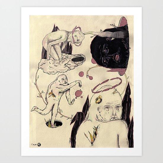 Bajo Perfil Art Print
