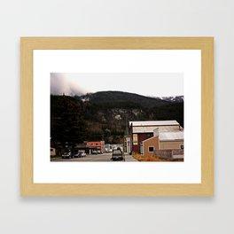 Cozy Skagway Framed Art Print