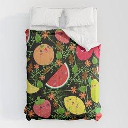 Multiple fruits Comforters