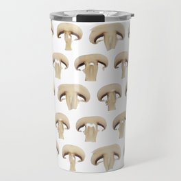 Many champignon slices pattern Travel Mug
