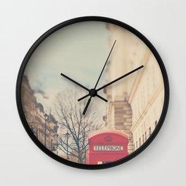 on a city street ...  Wall Clock