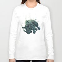gravity Long Sleeve T-shirts featuring Gravity by Philipp Banken