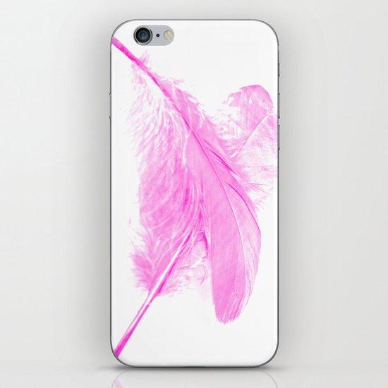 Pink ghost iPhone & iPod Skin