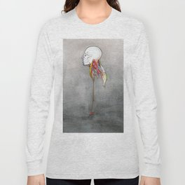 Doctor X, Skull anatomy drawing, NYC Artist Long Sleeve T-shirt