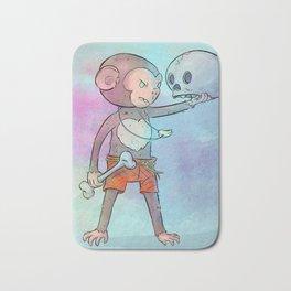 Monkey Pirate Bath Mat