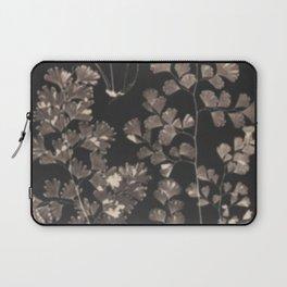 Black Maidenhair Laptop Sleeve