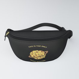 This is the onli planet with pizza Fanny Pack