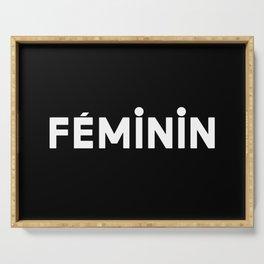 French New Wave - Feminin Serving Tray
