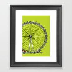 London Town - The Eye Framed Art Print