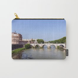 Ponte Sant'Angelo and Castel Sant'Angelo - Rome Carry-All Pouch