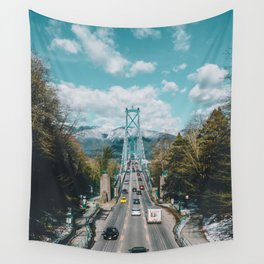 Lions Gate Bridge Wall Tapestry