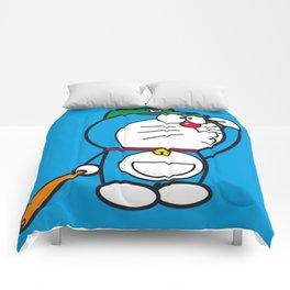 Doraemon baseball Comforters