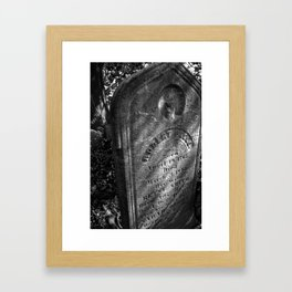 In Death Framed Art Print