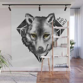 The Bad Wolf Wall Mural