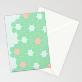 Teal Dot Stationery Cards