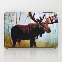 moose iPad Cases featuring Moose by Vicki Lynn Rae