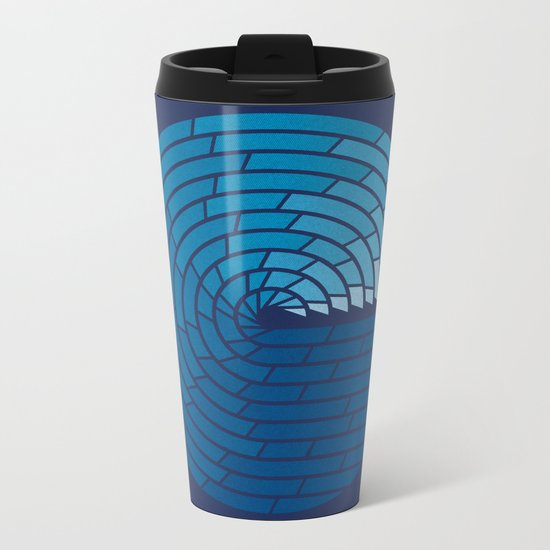 Almighty Ocean Metal Travel Mug