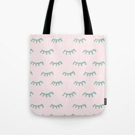 Sleeping Eyes Of Wisdom-Pattern - Mix & Match With Simplicity Of Life Tote Bag
