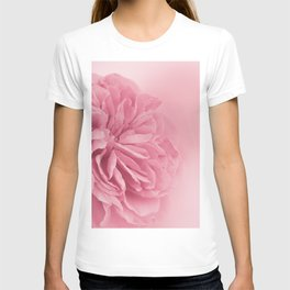 Light Pink Rose #1 #floral #art #society6 T-shirt