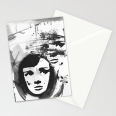 Audrey on a stencil Stationery Cards