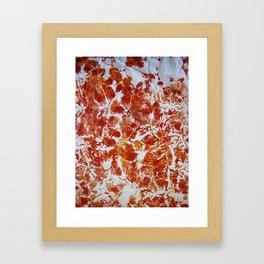 Spots and Dots Framed Art Print