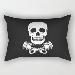 Skull n Pistons Classic Rectangular Pillow