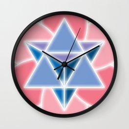 Tetra-Blossom Wall Clock