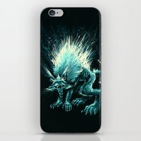 werewolf iPhone & iPod Skins featuring Werewolf. by Danilo Sanino