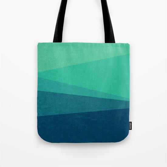 Stripe VIII Minty Tote Bag