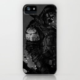 Gunner iPhone Case