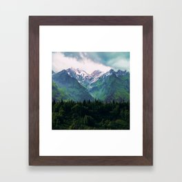 Escaping from woodland heights III Framed Art Print