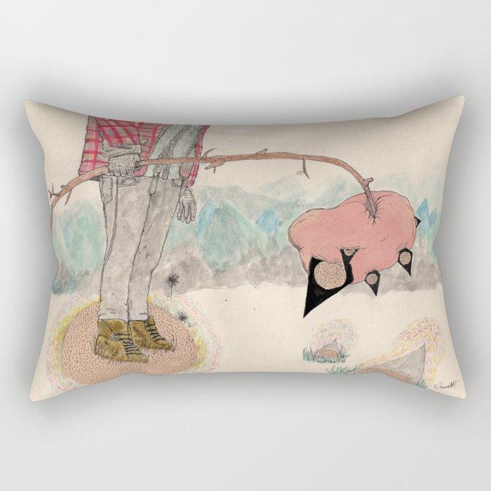 fuss Rectangular Pillow