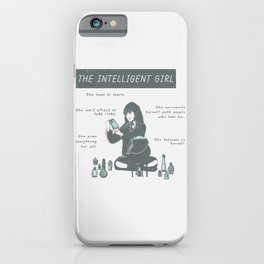 Hermione Granger / The Intelligent Girl iPhone Case
