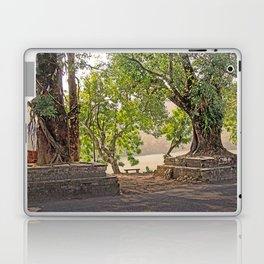 Tropical Hardwood Trees in Pokhara, Phewa Lake, Nepal Laptop & iPad Skin