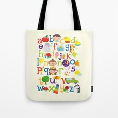 Wedgienet's Alphabet Tote Bag
