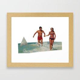 Hidden Danger. Framed Art Print