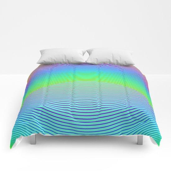 Endless Rainbow Comforters