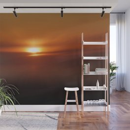 The Golden Hour Wall Mural