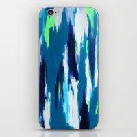 ikat iPhone & iPod Skins featuring Ikat by kristinesarleyart
