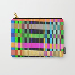 inclined coloured stripes Carry-All Pouch