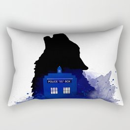 Dr.Who, Art, Design, Dr. Who Art, BadWolf, Bad Wolf Rectangular Pillow