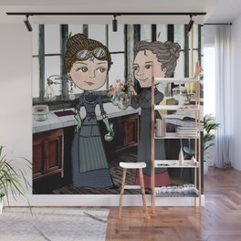 Woman in Science: The Curies Wall Mural