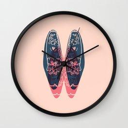 moccasin Wall Clock