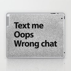 Text me Laptop & iPad Skin
