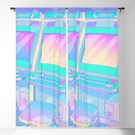 Pastel Glitch Blackout Curtain