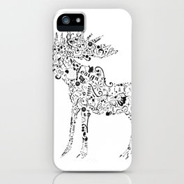 Many shapes of the Moose iPhone Case