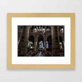 Mass Framed Art Print