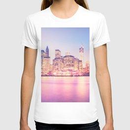 New York City Skyline - Lights T-shirt