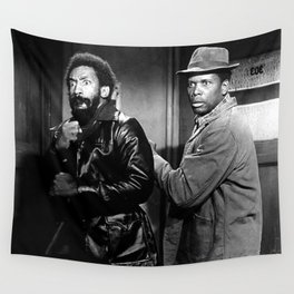 Sidney Poitier KBE - Bahamian-American Actor Film Director Shop Society6 Online BLM COSBY Wall Tapestry